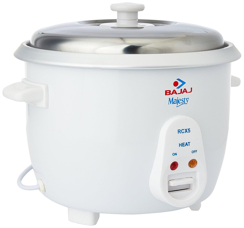 Bajaj Rcx 5 1 8 Litre Electric Rice Cooker Maacarts