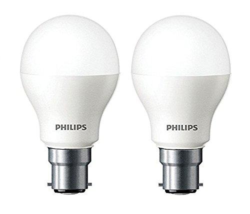 philips base b22 7watt led bulb cool day lightpack of