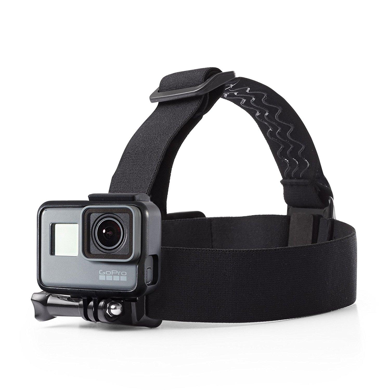 c00d11a9c65 AmazonBasics GoPro Head Strap Mount (Black) - MaaCarts